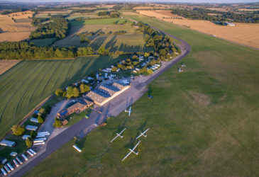 The Gliding Centre at Husbands Bosworth which will host the Women's World Championships in 2021. (Photo: www.peteralvey.com)